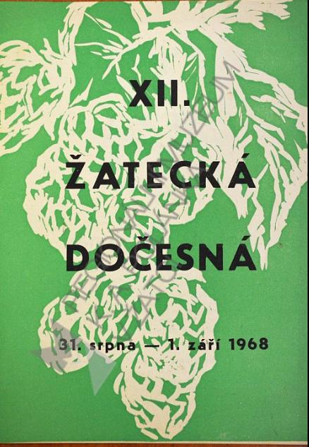 Plakát na Dočesnou 1968