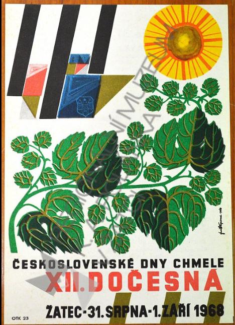 Plakát na Dočesnou r. 1968
