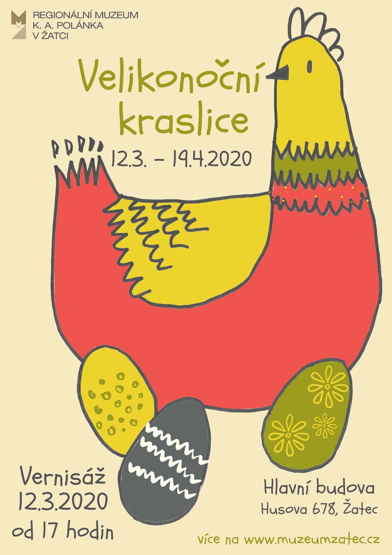 plakát výstava kraslic