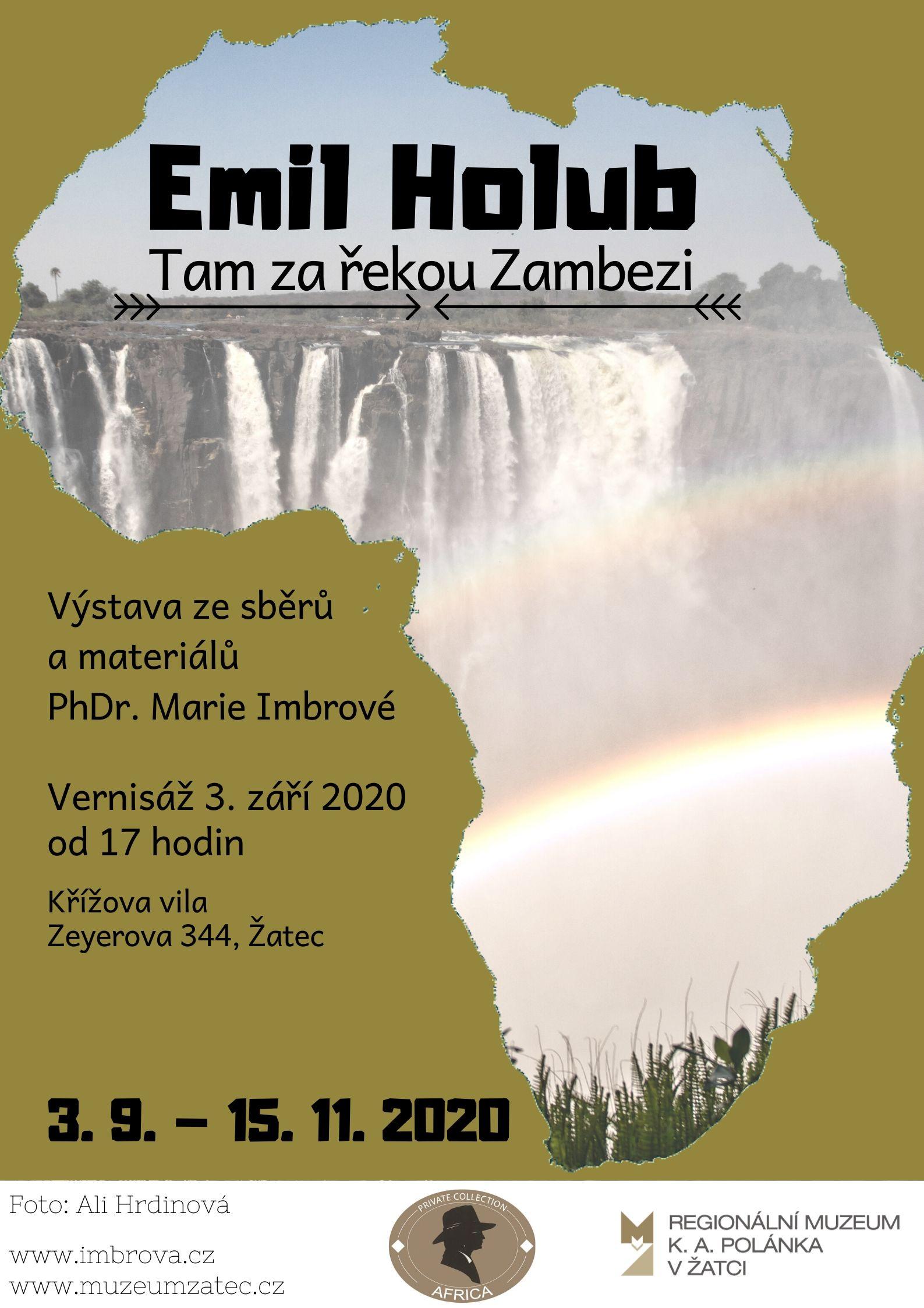Emil Holub - plakát