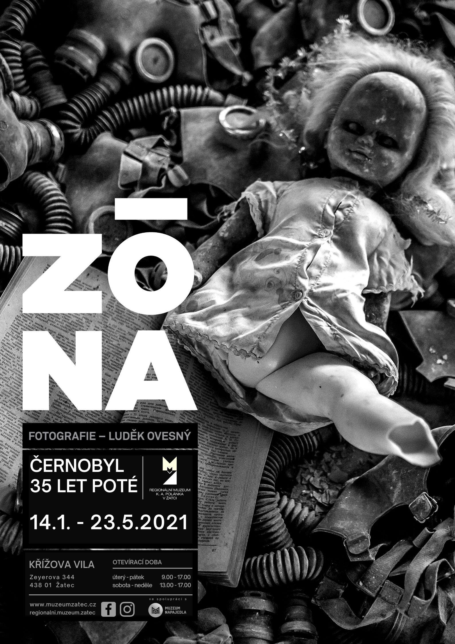 plakát Zóna-Černobyl